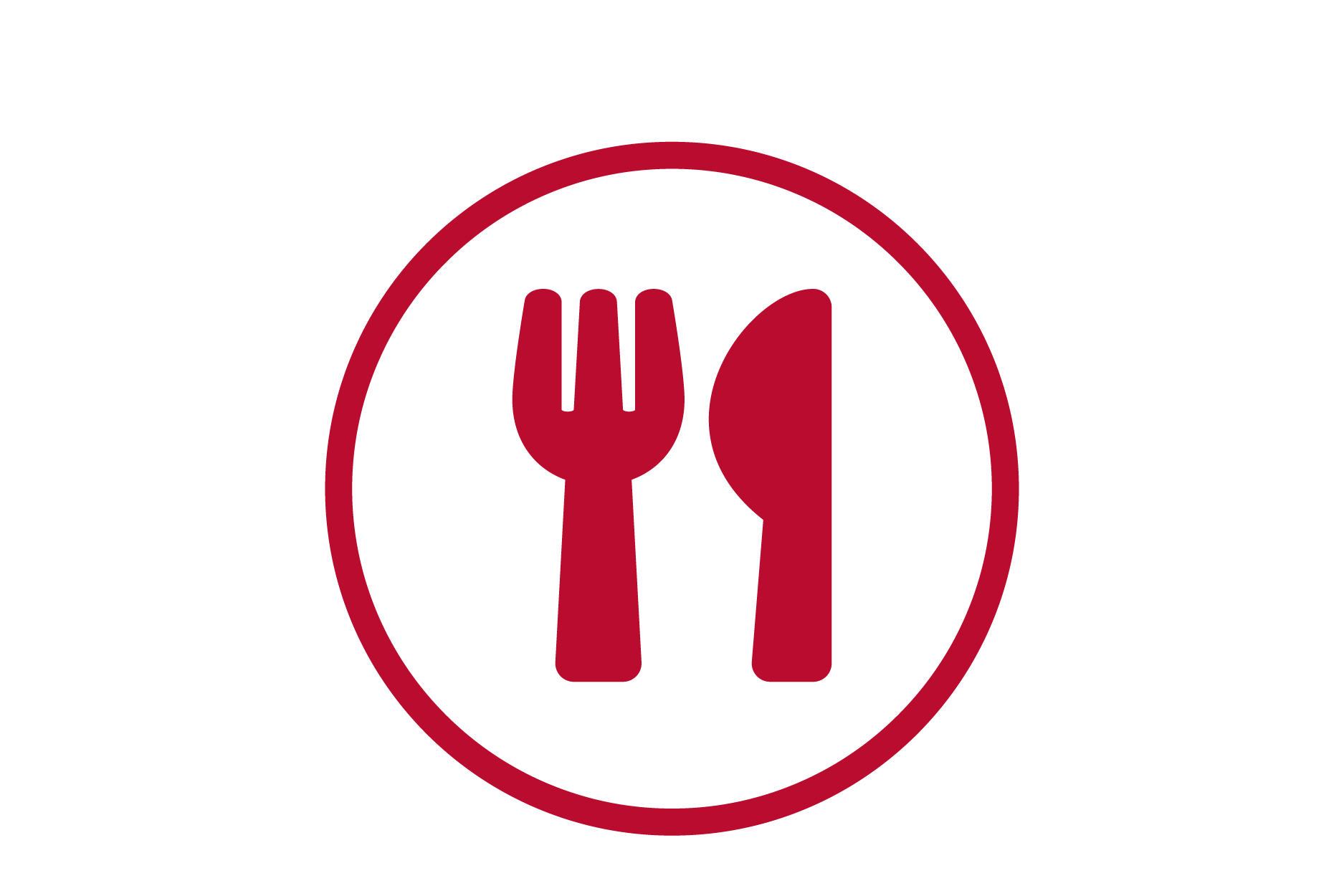 Icon of fork and knife